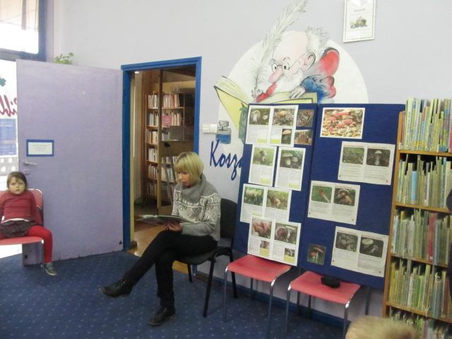 Zajęcia Dla Przedszkolaków W Bibliotece Koszałka Opałka