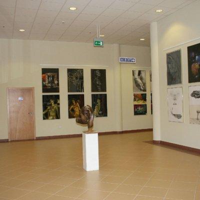 WiMBP w Gorzowie Wlkp. II piętro - aneks wystawowy