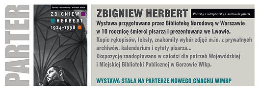 Zbigniew Herbert - wystawa