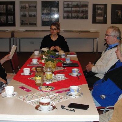Spotkanie Dyskusyjnego Klubu Książki w Oddziale dla Osób Specjalnej Troski WiMBP w Gorzowie Wlkp.