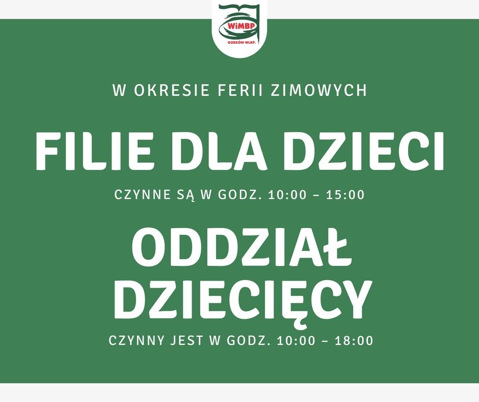 komunikat WiMBP w Gorzowie Wlkp.