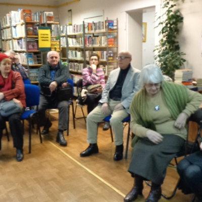Spotkanie z Marianną Fankindejską w Filii nr 6 WiMBP w Gorzowie Wlkp.