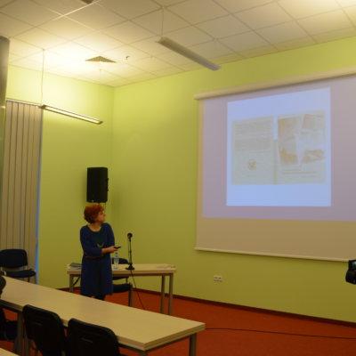 Spotkanie z dr Katarzyną Taborską