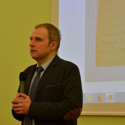Spotkanie z dr. hab. Marcelim Tureczkiem, 23 marca 2018 r.