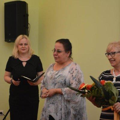 Wykład Cecylii Judek w Wojewódzkiej i Miejskiej Bibliotece Publicznej im. Zbigniewa Herberta w Gorzowie Wielkopolskim