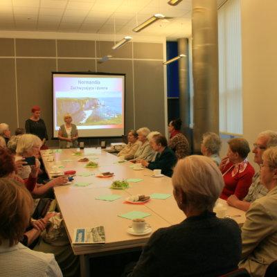 Biblioteka Aktywnego Seniora - Normandia