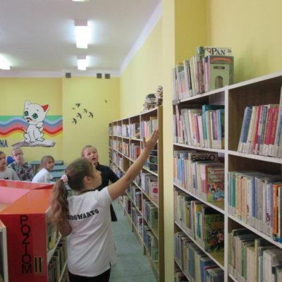 Escape room BiblioAfree-ka w Bibliotece Kota Filemona