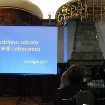 """W sobotę, 9 lutego br., rozpoczęliśmy cykl spotkań pod wspólną nazwą """"Rodzinna sobota w Willi Lehmanna""""."""