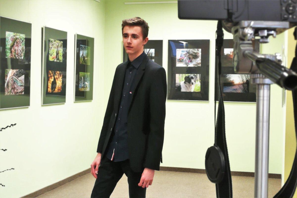 """""""Mariusz Koźlarek – NATURALNIE"""" - od 28 lutego 2019 roku Biblioteka przy ul. Słonecznej 63, ma przyjemność prezentować prace tego młodego fotografa."""