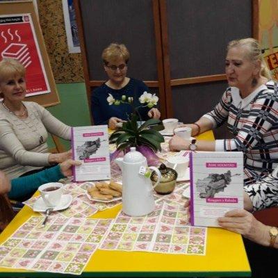 """W dniu 19 lutego 2019 r. ,na kolejnym spotkaniu Dyskusyjnego Klubu Książki rozmawialiśmy o książce """"Księgarz z Kabulu"""", która została napisana przez norweską dziennikarkę Asne Seierstad."""