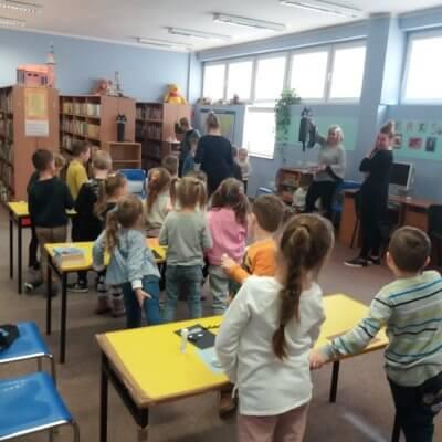 Dnia 20 lutego w bibliotece dziecięcej Filii nr 4 odbyło się spotkanie z okazji Światowego Dnia Kota.