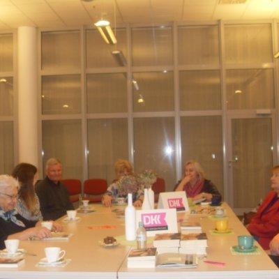 Dyskusyjny Klub Książki przy Wypożyczalni Głównej spotkał się 28 lutego 2019 r.