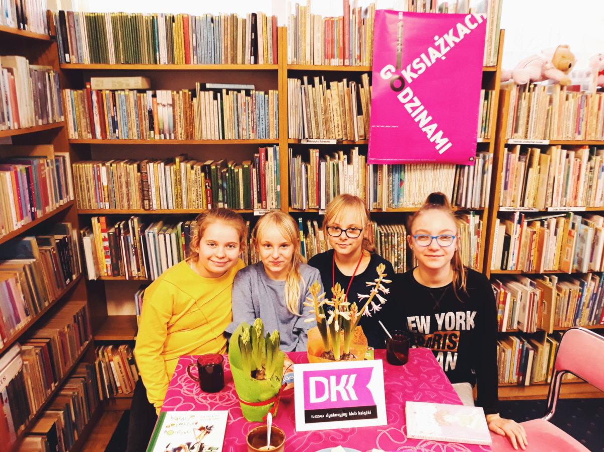 Dnia 11 marca 2019 r. w Filii nr 14 odbyło się kolejne spotkanie Dyskusyjnego Klubu Książki dla młodzieży.