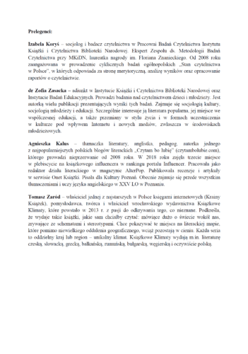 """6 czerwca 2019 r. w Biblioteka Herberta zaprasza bibliotekarzy na seminarium pt. """"Jak czytają Polacy: motywacje, nawyki, wybory"""". Początek o godzinie 9:30."""