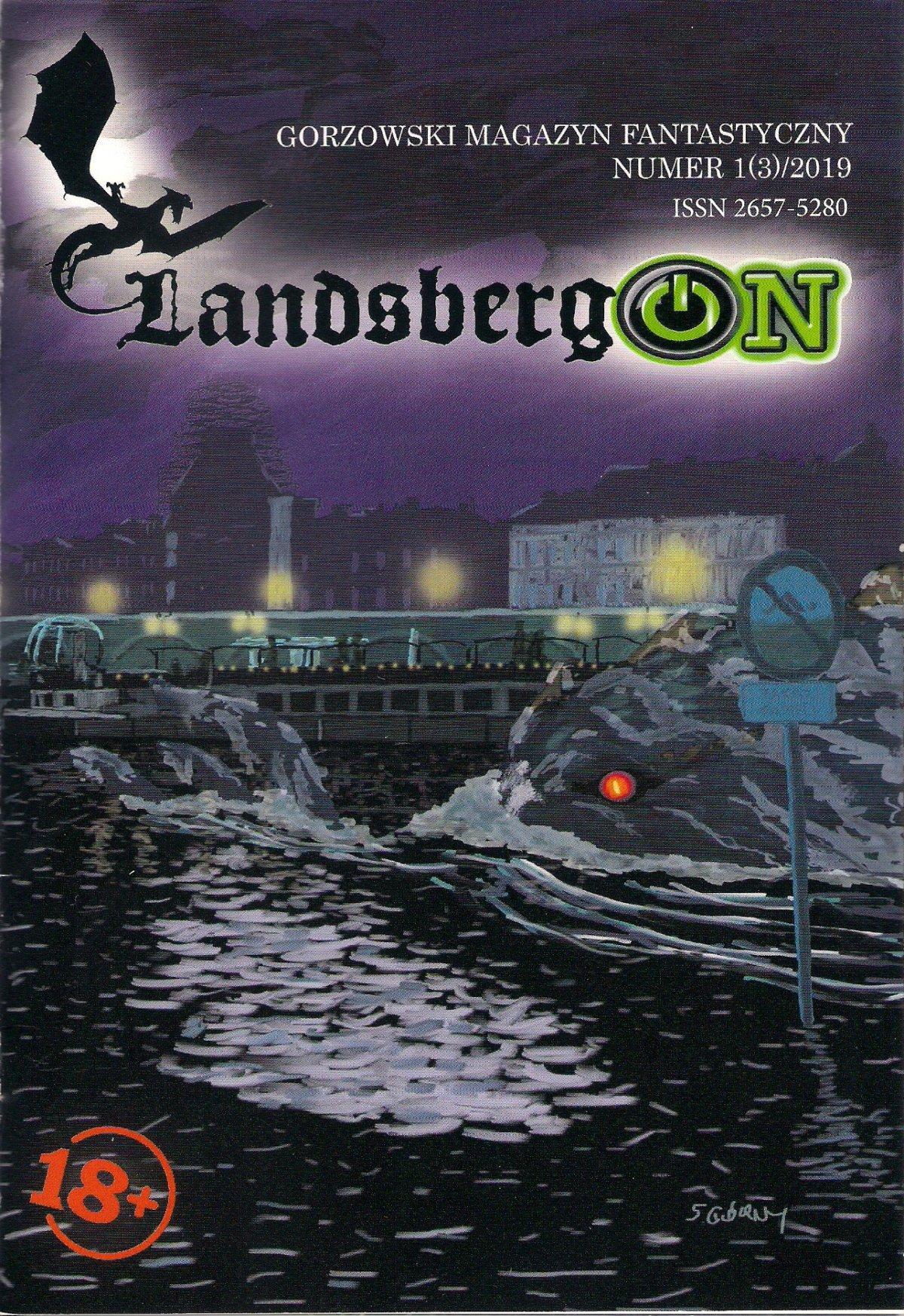 """Chyba każdego obudziły kiedyś jakieś dziwne odgłosy, a może zaskakujący sen lub zaglądający do okna księżyc. Nawet najbardziej racjonalny człowiek poddaje się nieznanym lub zaskakującym zjawiskom. Dlaczego lubimy się bać? - pyta Mariusz Sobkowiak we wstępniaku do trzeciego numeru """"LandsbergONu"""" (taki zapis, nie poprawiać) Gorzowskiego Magazynu Fantastycznego."""