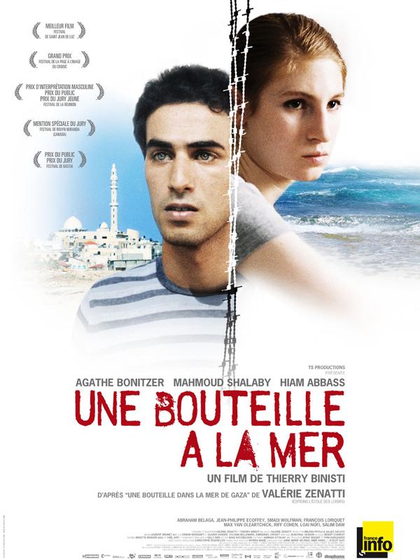 """12 września wróciliśmy po wakacyjnej przerwie do projekcji filmów francuskojęzycznych. W tym miesiącu nasz wybór padł na """"Butelkę w morzu"""" z 2010 roku w reżyserii Thierry'ego Binisti."""