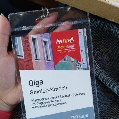 W dniach 12 – 13 września 2019 roku w Poznaniu odbyło się 12. Forum Młodych Bibliotekarzy. Hasło przewodnie tegorocznego spotkania brzmiało: Bibliotekarz DO POZNANIA. Wojewódzką i Miejską Bibliotekę Publiczną im. Zbigniewa Herberta w Gorzowie Wielkopolskim reprezentowała Olga Smolec-Kmoch.