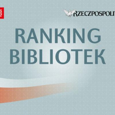 Ranking Bibliotek 2019: słubicka biblioteka jest 12. w Polsce i 1. w województwie lubuskim!