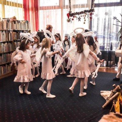 Jasełka w Bibliotece Koszałka Opałka