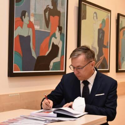 11 września 2020 r.Wystawa malarstwa Eugeniusza Repczyńskiego