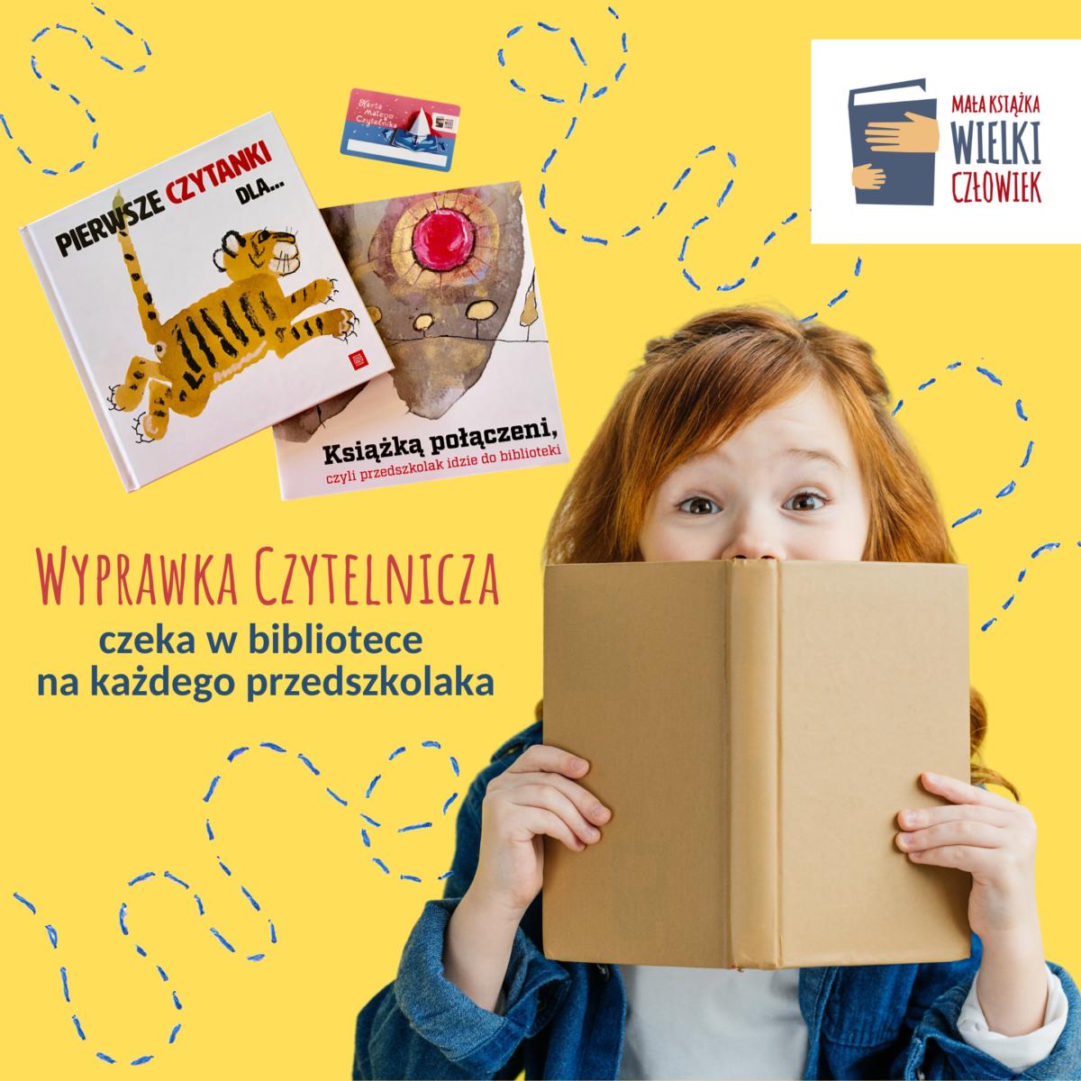 """Kampania """"Mała książka – wielki człowiek"""" w bibliotece trwa!"""