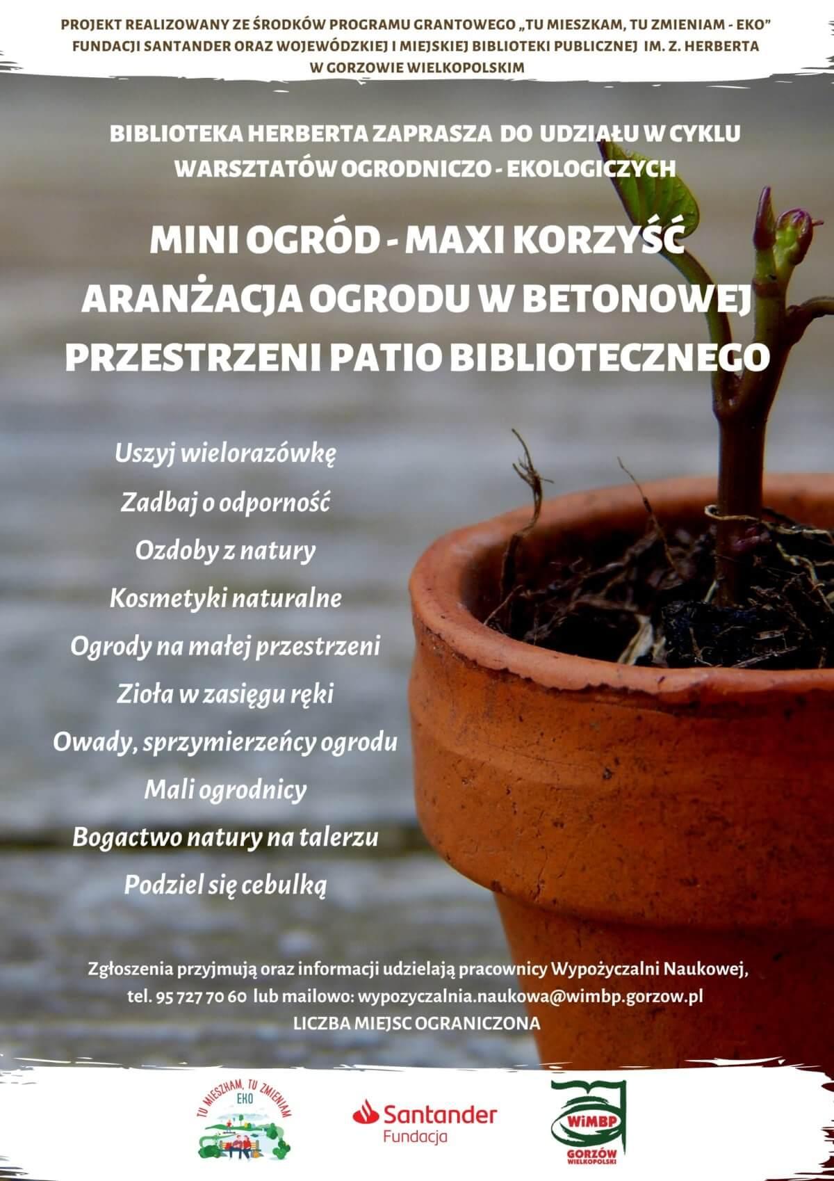 Projekt Tu mieszkam, tu zmieniam - EKO Gorzów Wielkopolski