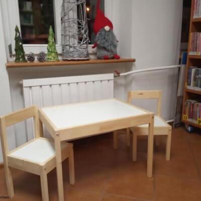 Biblioteczka maluszków w Starym Kurowie